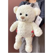 Медведь Плюшка белый