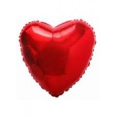 Шар фольгированный — сердце красное
