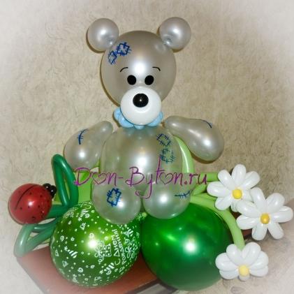 Мишка Тедди (серый)
