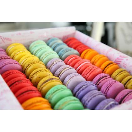 Коробочка со сладостями Макарон